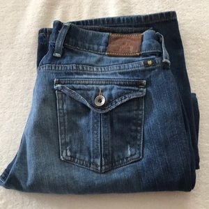 Lucky Brand Sweet And Straight cropped jeans sz 29